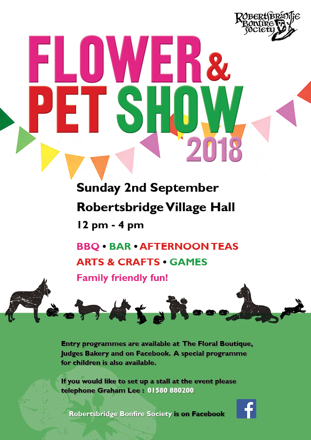 Flower and Pet show Poster